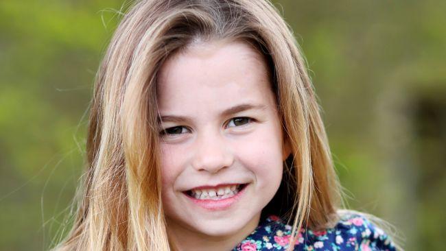 Princess Charlotte sixth birthday photo
