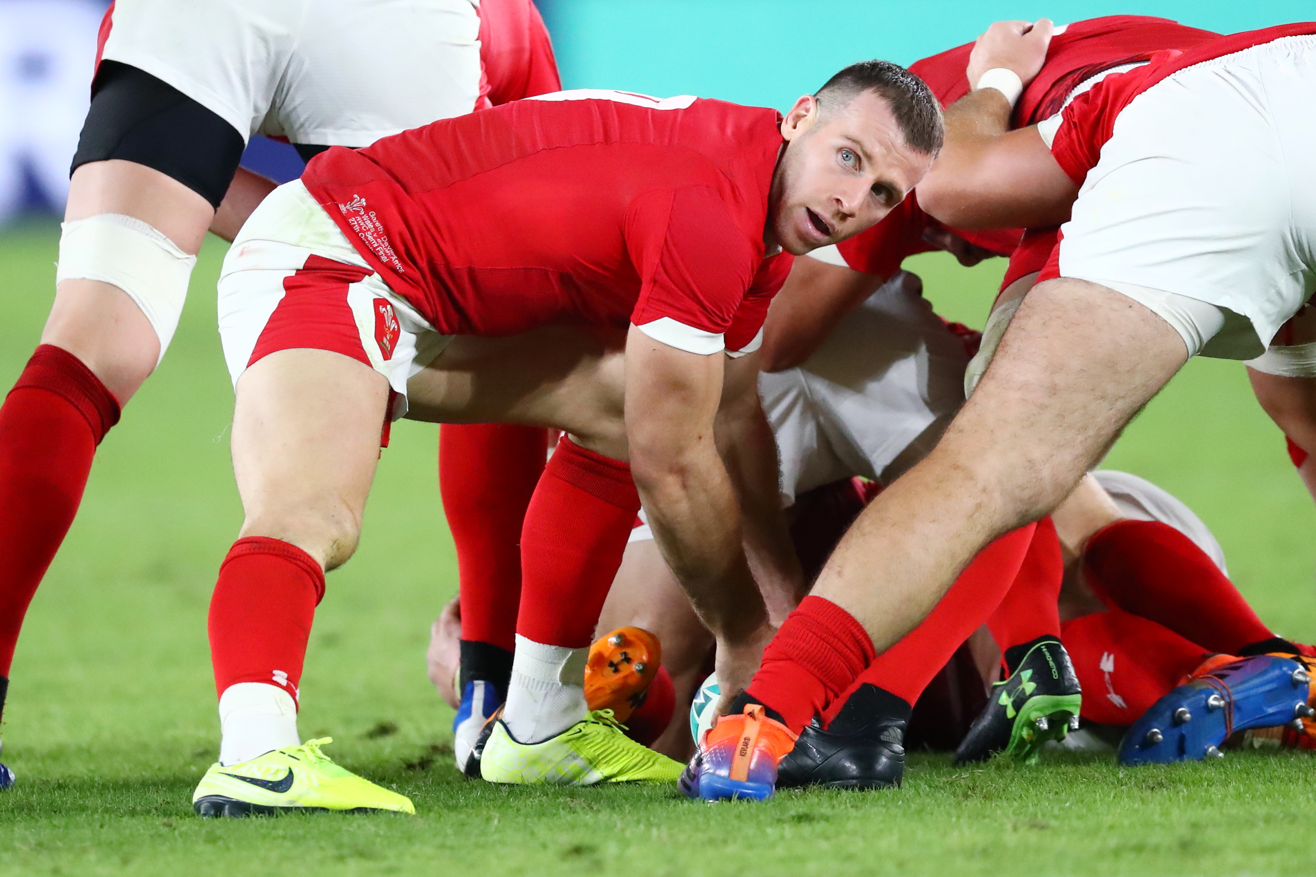 Gareth Davies and Cory Hill to start for Wales against Italy | ITV News