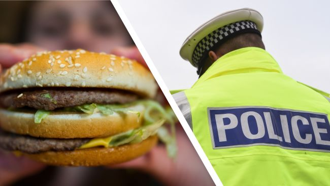 Burger Police collage