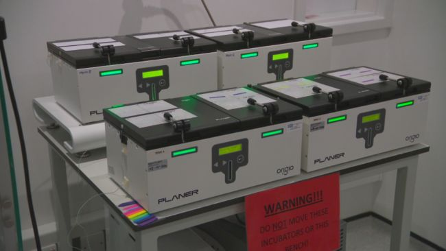 Boxes in a lab