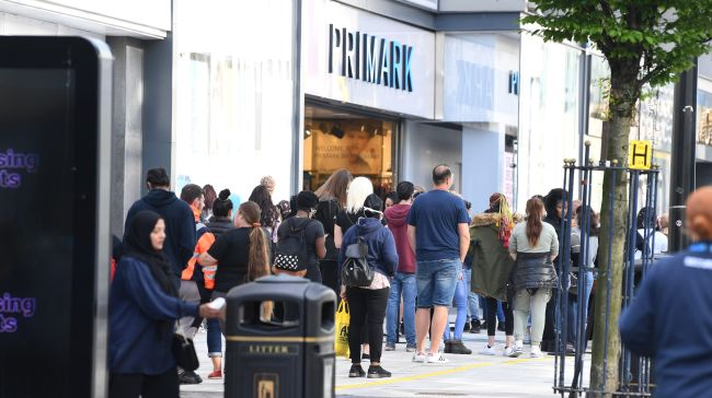 Primark Forced To Reopen Early As Huge Queue Forms Outside Central Itv News