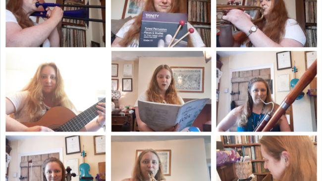 Estelle Jackson teacher taunton queens college instrument exams