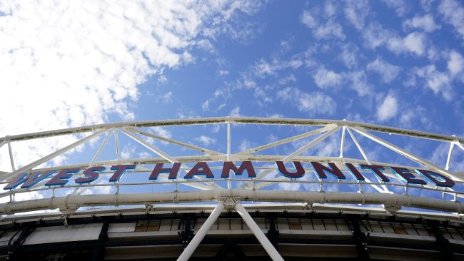 A general view of the London Stadium, London. Picture date: Sunday October 24, 2021.