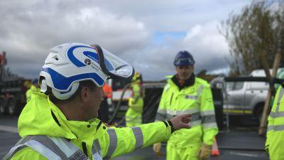 Environment Agency flood response exercise