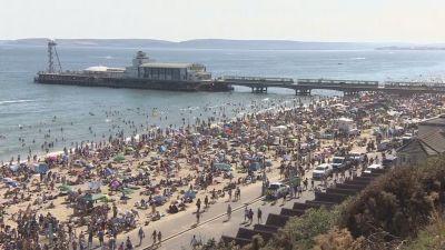 300720-Bournemouth beach in June-Meridian