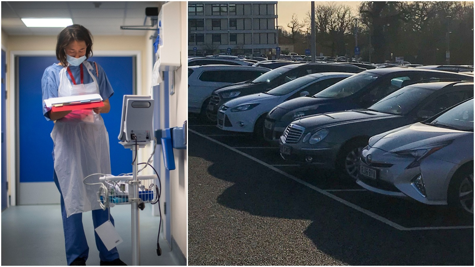 Calls For Permanently Free Hospital Parking For Nhs Staff Border Itv News
