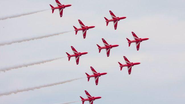 IWM Duxford Red Arrows