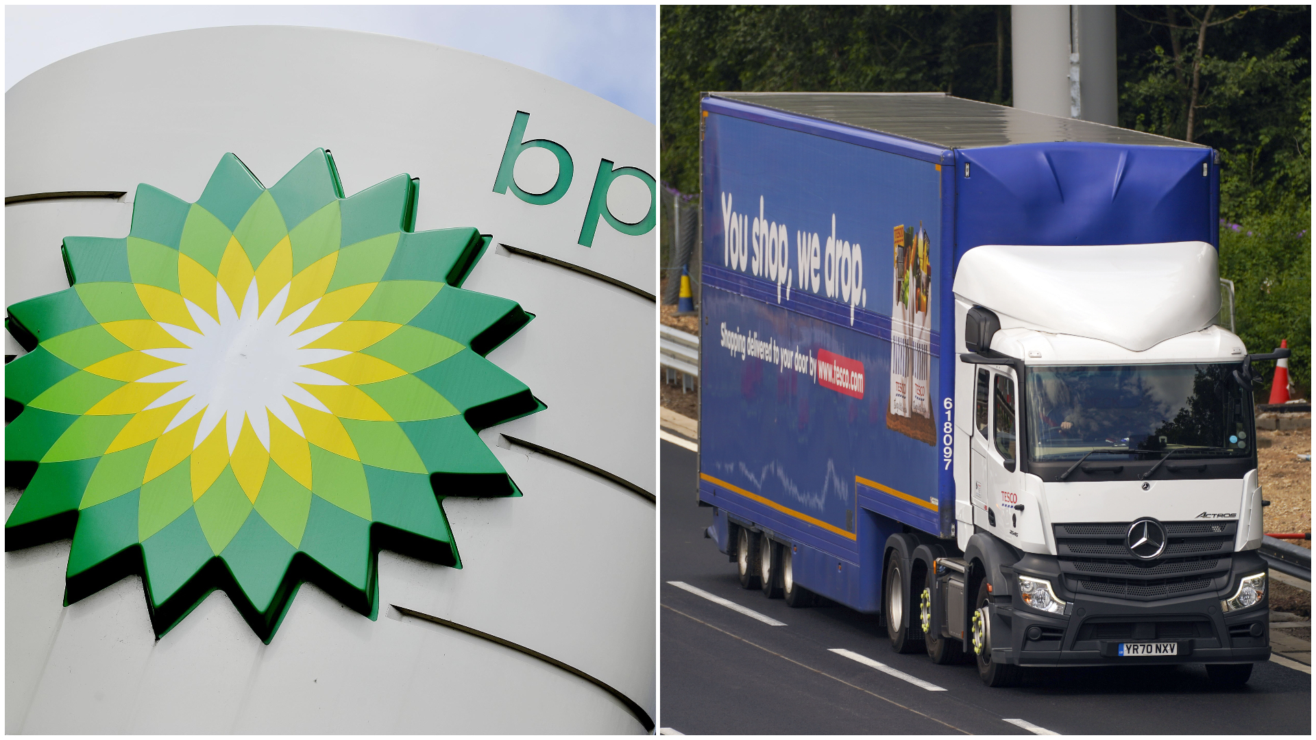 HGV driver shortage: BP poised to ration fuel deliveries amid supply problems | ITV News