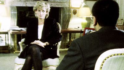 File photo dated 20/11/1995 of Diana, Princess of Wales during her Panorama interview with Martin Bashir for the BBC. Twenty four years have passed since Diana, Princess of Wales died in a Paris car crash. The princess - the Duke of Cambridge and the Duke of Sussex's late mother - was just 36 was she was killed on August 31 1997. Issue date: Tuesday August 31, 2021. BBC/PA
