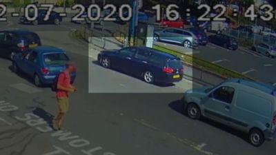 race attack CCTV