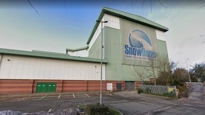 Tamworth SnowDome, Google Street View