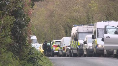 A major police investigation is underway after a woman's body was found in a rural part of Kent.