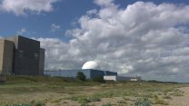Sizewell B power station on the coast
