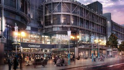 CastleCourt shopping centre in Belfast city centre.