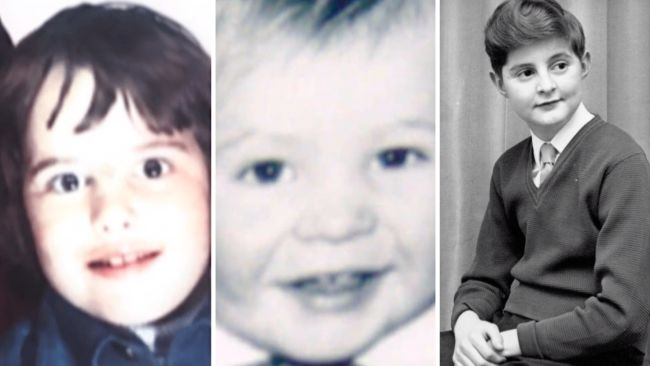 Andrew RT Davies, Adam PRice and Mark Drakeford as a child