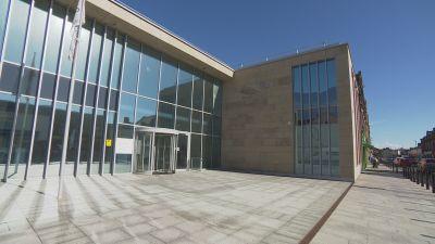Cumbria County Council building in Carlisle