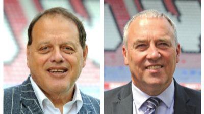 070720 Wigan administrators Gerald Krasner (left) and Paul Stanley (right)
