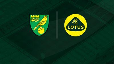 Lotus Cars will sponsor Norwich City's shirts next season.