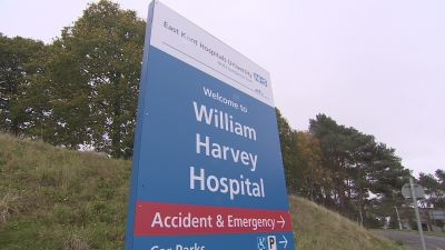 """A hospital has been ordered to make """"significant improvements"""" after ward and emergency department staff were found failing to comply with Covid-19 rules."""