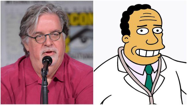 Matt Groening split screen