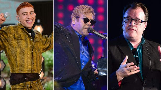 Olly Alexander, Sir Elton John, Russell T Davies, PA
