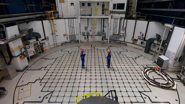 Hinkley Point B reactor.
