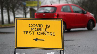 Mobile testing centres will be set up in parts of London to test secondary school pupils for Covid.