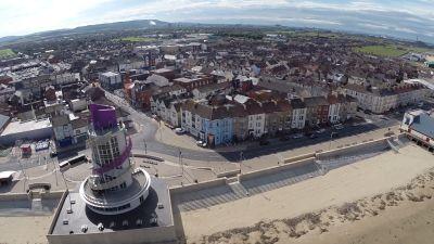 08-09-2021 - Redcar aerial - ITV