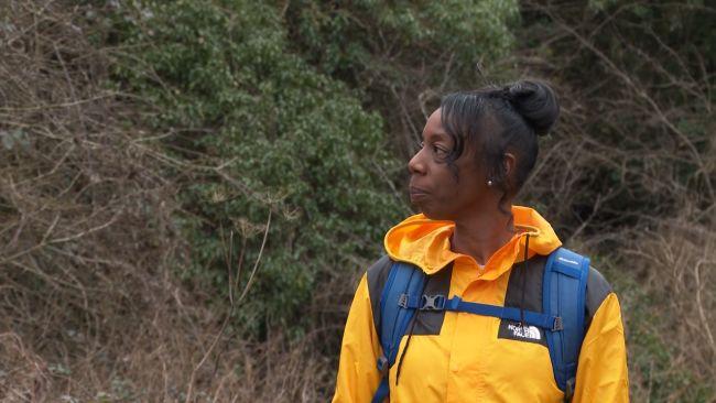 Sophie Brown, leader of the Bristol Black Girls Hike