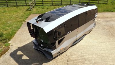 The driverless shuttle is being evaluated to see if it could become part of public transport