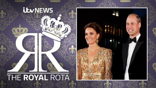 Duchess of Cambridge and Duke of Cambridge at the James Bond premiere