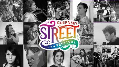 Poster advertising the Guernsey Street Festival 2021