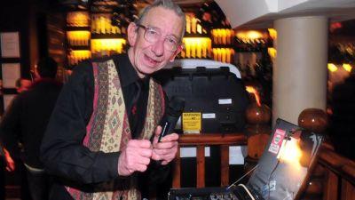 Reggae pioneer DJ Derek in Bristol