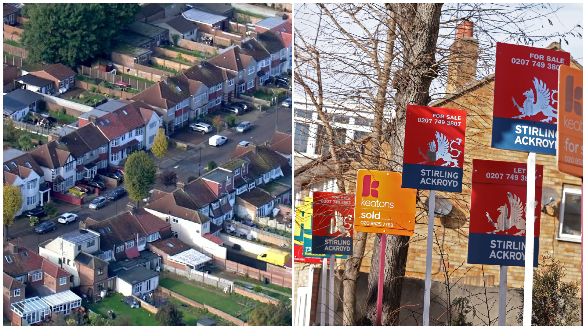 Revealed: Top 20 areas in country which have seen bumper rise in house prices | ITV News