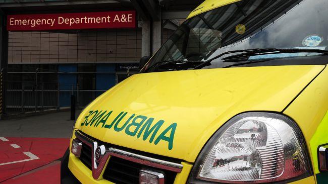 PA Images stockshot of an ambulance.
