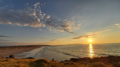 Viewer Eamonn Higgins submitted his picture of a sunny Portstewart Strand on the North Coast.
