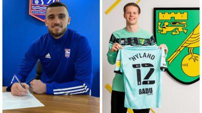 Troy Parrott and Ørjan Nyland have both made deadline day moves.