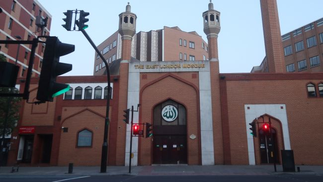 File photo dated 24/04/2020 of the East London Mosque in Whitechapel, east London, where a pop-up Covid-19 vaccination centre has been set up. Issue date: Saturday February 6, 2021.
