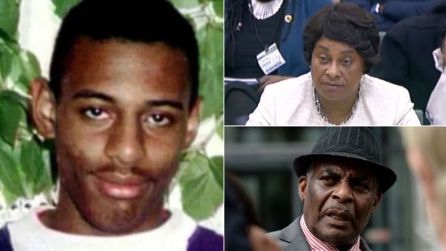 Stephen Lawrence's mother Doreen (top left) says she will 'never' give up trying to find her son's killers.