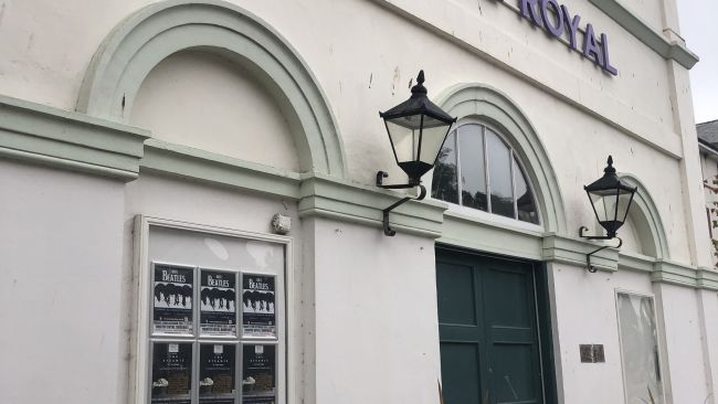 The Theatre Royal in Dumfries, photographed on 8/9/21. ITV photo.