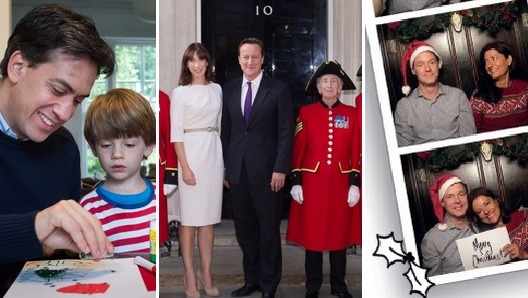 pensioners and photobooths star in leader christmas cards