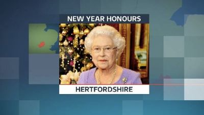 New Year Honours For People In Hertfordshire Anglia Itv News