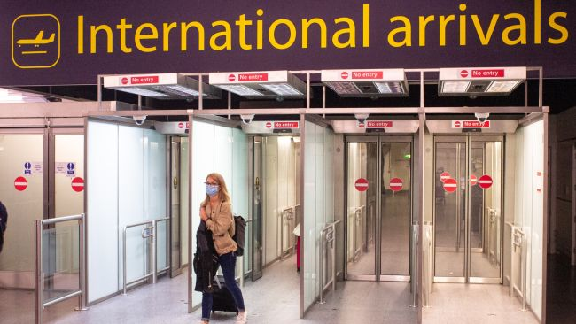 Certain groups will no longer have to quarantine when arriving in England.