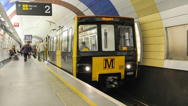 Photo of a Metro Train
