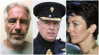 Jeffrey Epstein Prince Andrew and Ghislaine Maxwell