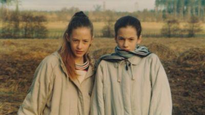 Caroline Flack and her sister, Jody Flack, in Norfolk
