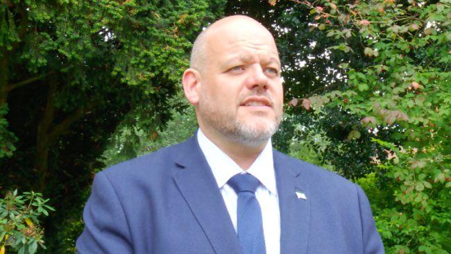 20/10/21. Workington MP Mark Jenkinson. ITV Border pic.