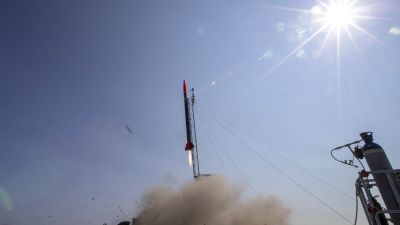 The rocket, named after Ada Lovelace, blasted off yesterday