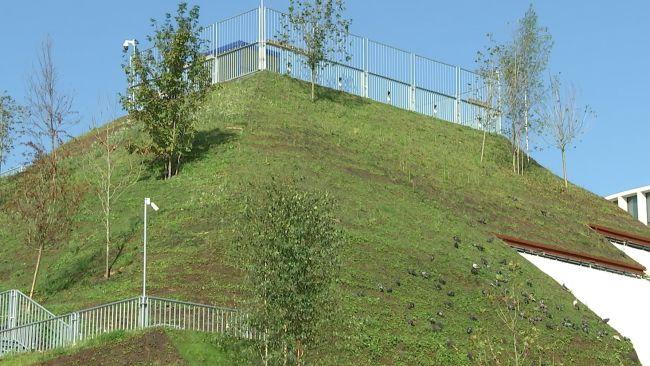Marble Arch Mound (c) ITV News