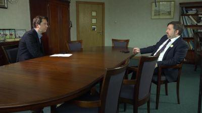 UTV's Paul Reilly talks to Health Minister Robin Swann for UP Close: Unlocking the Virus.